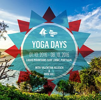 Liquid Mountains Yoga Days 1st - 8th of october 2016